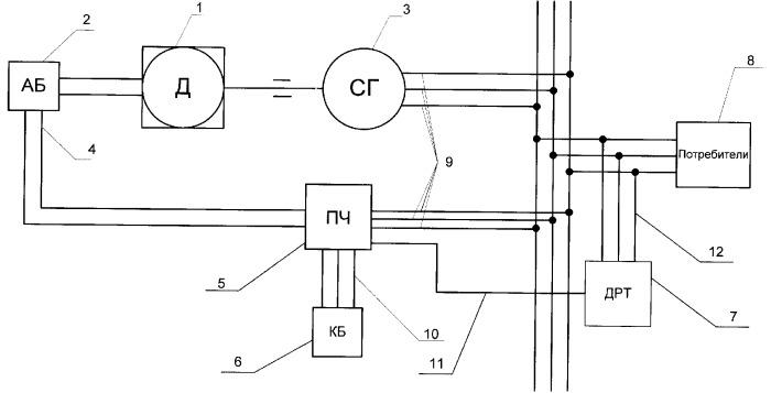 Способ работы двигателя внутреннего сгорания и двигатель внутреннего сгорания