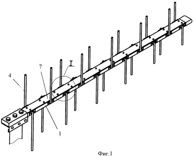 Логопериодическая антенна (2 варианта)
