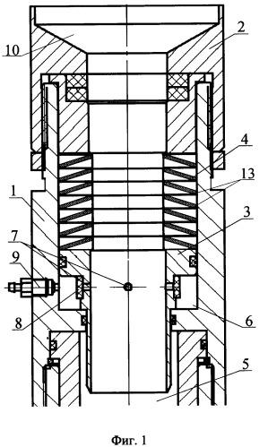 Самоуплотняющийся сальниковый узел