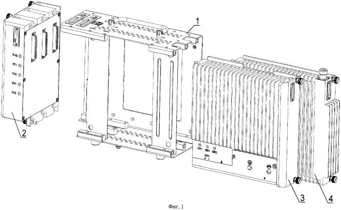 Блок автоматики и радиосвязи и каркас для блока автоматики и радиосвязи