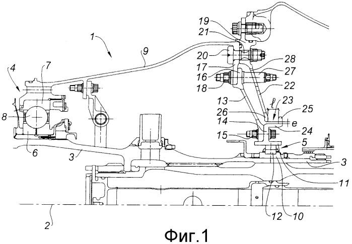 Турбомашина с разъединяющим устройством, общим для первого и второго подшипников ее приводного вала, компрессор, содержащий разъединяющее устройство, и разъединяющее устройство