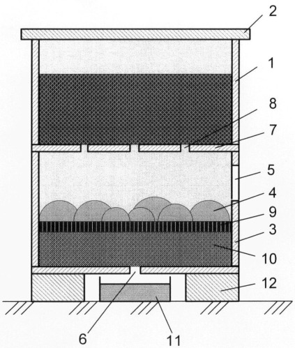 Способ приготовления биогумуса и установка для его осуществления