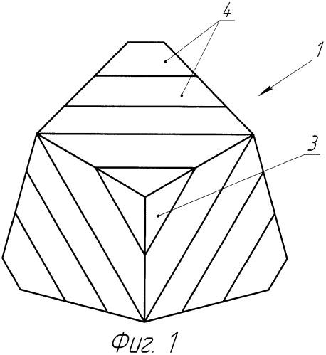 Драгоценный камень и способ его огранки
