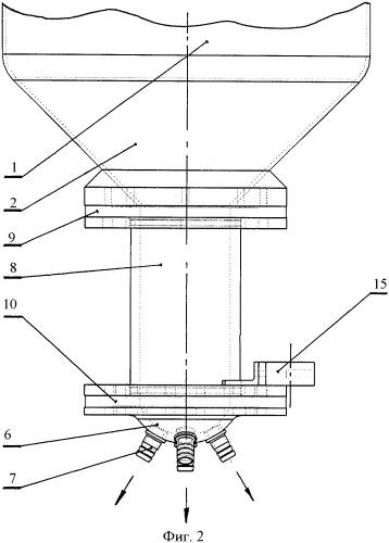 Напорный агрегат для абразивоструйной обработки изделий