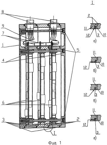 Радиоэлектронный блок и способ его изготовления