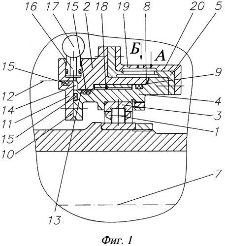 Упругодемпферная опора роторной машины