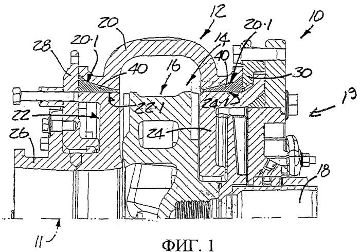 Уплотнительный элемент для роторной машины