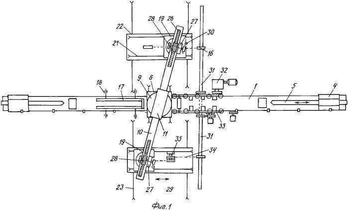 Способ изготовления криволинейных оцилиндрованных бревен и профильного бруса и устройство для его осуществления