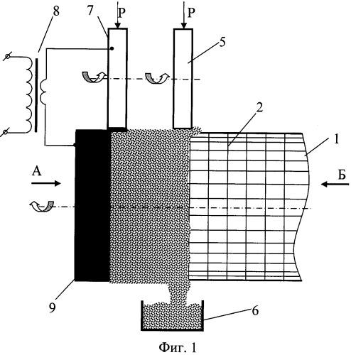 Способ электроконтактной приварки металлических порошков