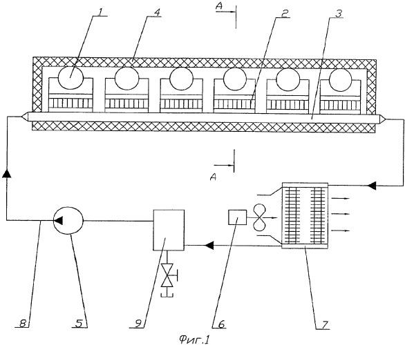 Термоэлектрический блок-охладитель для напитков