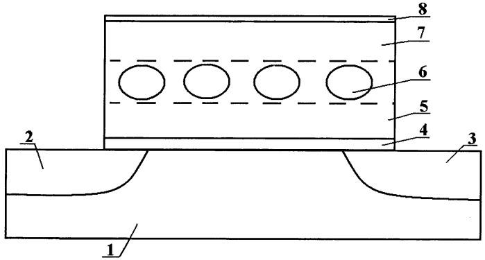 Флэш элемент памяти электрически перепрограммируемого постоянного запоминающего устройства