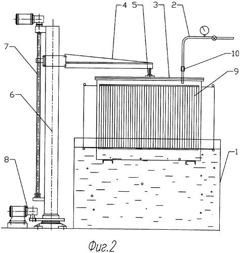 Стенд для испытания на герметичность сварных изделий