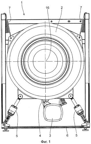 Амортизатор с эластичным узлом центрированного демпфирования