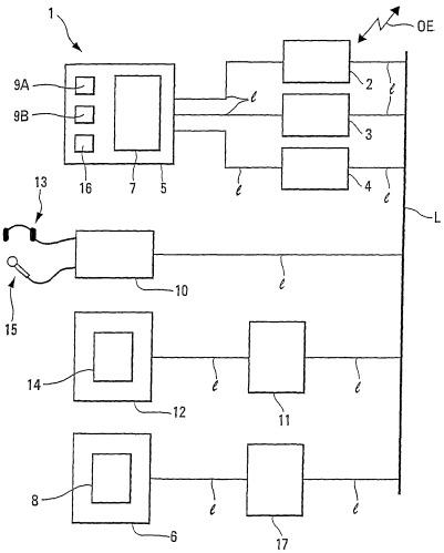 Система радиочастотной связи для летательного аппарата