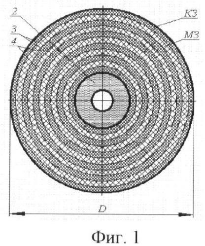Способ формирования алмазно-абразивного круга комбинированной зернистости воздушно-абразивной струей