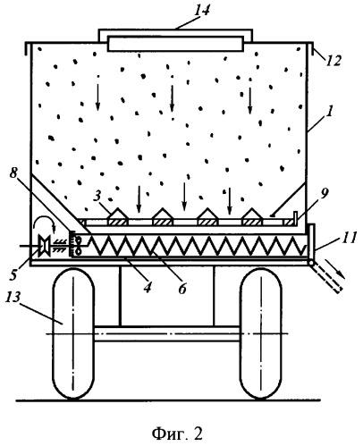Устройство для перевозки и хранения зерна