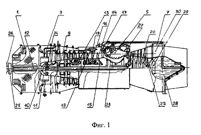 Газотурбинный привод электрогенератора