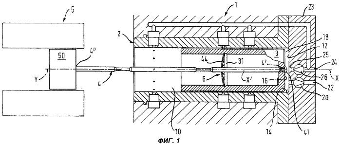 Цилиндропоршневой узел с осевым приводом