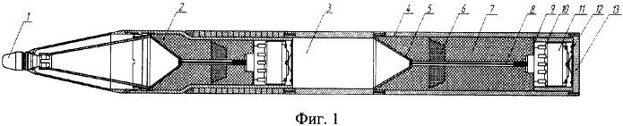 Неуправляемая авиационная ракета с тандемным кумулятивным зарядом