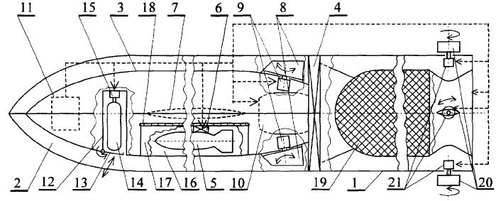 Способ поражения подводных целей на больших дальностях и комплекс противолодочного вооружения