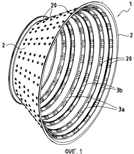 Корпус турбины с тугоплавкими скобами, изготовленный способом порошковой металлургии