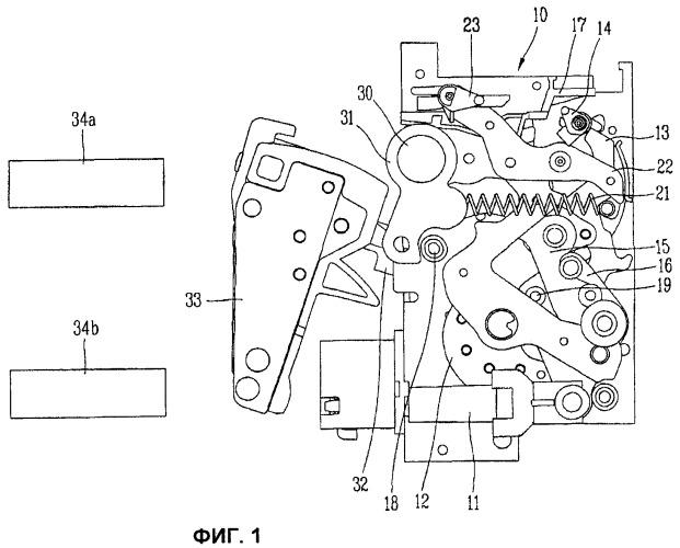 Устройство для указания на замкнутое рабочее состояние воздушного выключателя и воздушный выключатель с таким устройством