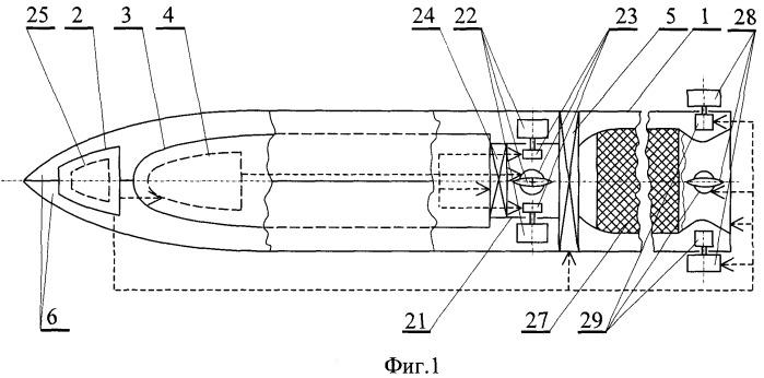 Комплекс противолодочного вооружения и способ поражения подводных целей