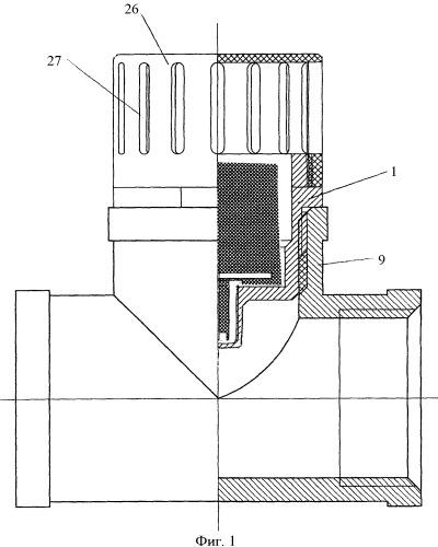 Устройство для измерения температуры теплоносителя