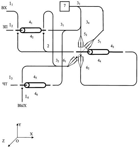 Оптическое аналоговое запоминающее наноустройство