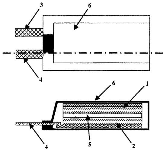 Полимерный электролит, способ его получения и электрохимический элемент