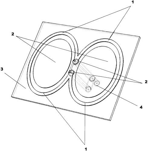 Широкополосная зигзагообразная антенна