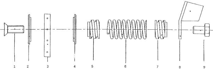 Подпружиненная подвеска для звукоизоляционных элементов
