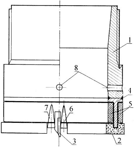 Инструмент для термофрикционного бурения горных пород