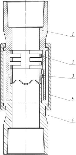 Компенсатор крутильных колебаний насосно-компрессорных труб