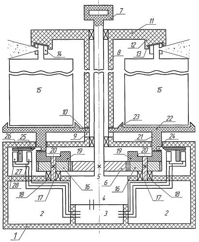 Автономное устройство, рассеивающее аэрозоль баллончиков в закрытом помещении