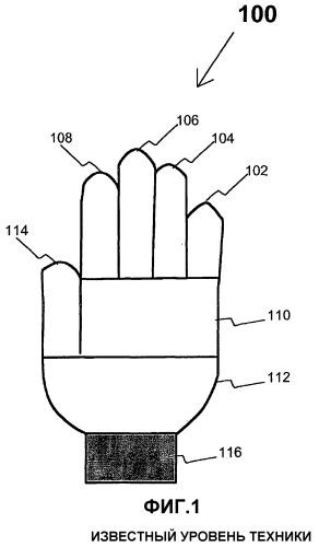 Способ изготовления вязаной перчатки и вязаная перчатка