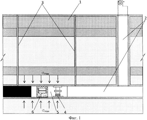 Способ получения электрической и других видов энергий при подземной разработке массива полезных ископаемых