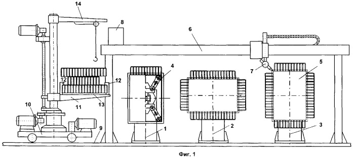 Участок изготовления коробчатых сварных изделий