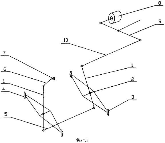 Тормозная система тележки
