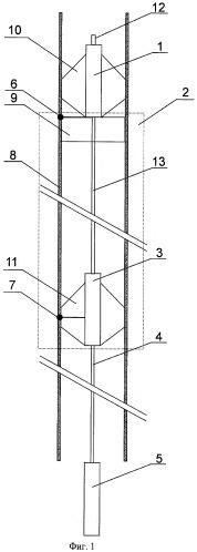 Устройство передачи информации вдоль ствола скважины