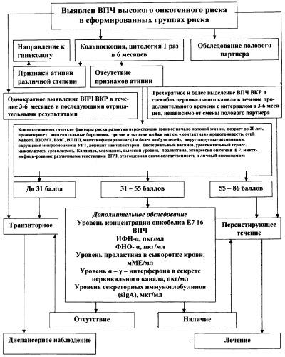Способ диагностики папилломавирусной инфекции