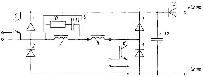 Диодно-транзисторный мост
