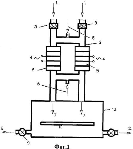 Трансформаторный плазмотрон с