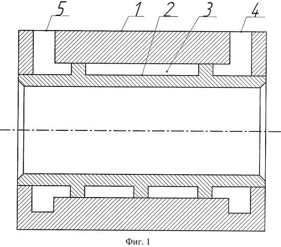 Кристаллизатор для горизонтального непрерывного литья
