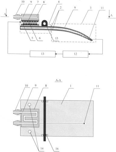 Термоэлектрическое устройство для локальной гипотермии спинного мозга