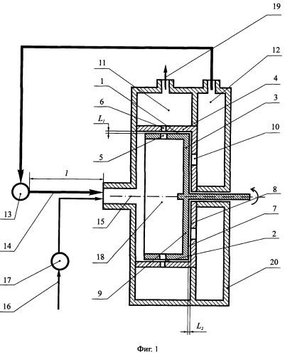 Двухконтурный роторный аппарат