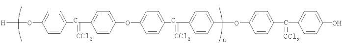 Хлорсодержащие ароматические олигоэфиры