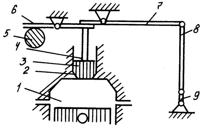 Устройство для работы двигателя внутреннего сгорания с перерасширением