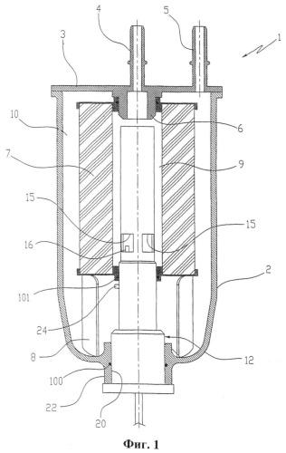 Топливный фильтр для дизельных двигателей внутреннего сгорания