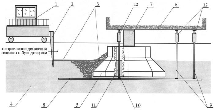 Способ испытания модели морского инженерного сооружения в ледовом опытовом бассейне и устройство для его осуществления